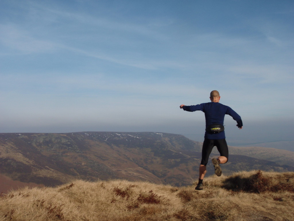 fell running near Kinder