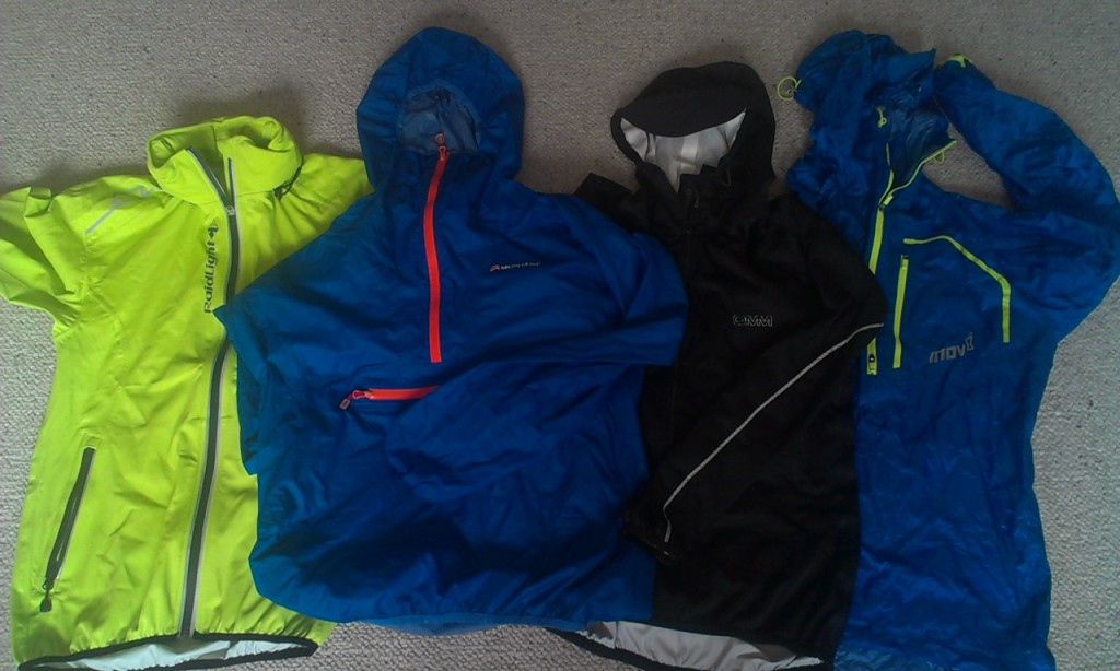 waterproof running jackets