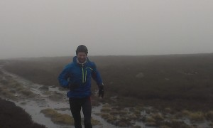 Inov-8 Stormshell in the rain
