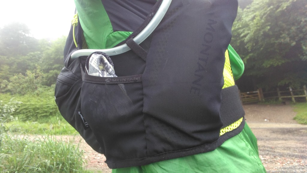 Montane Fang side pocket
