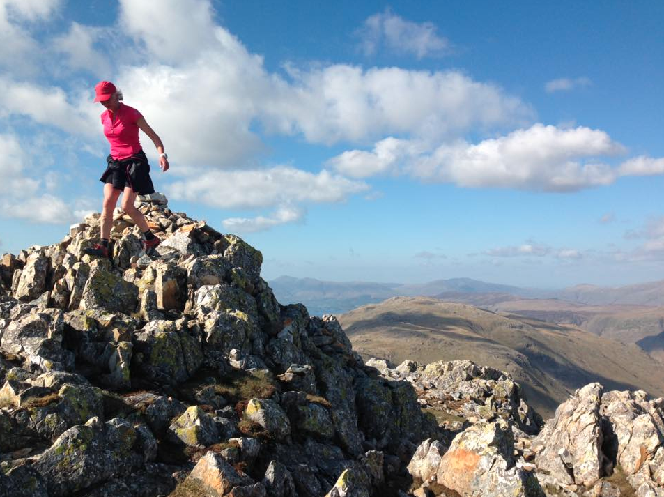 Nicky Spinks on the Bob Graham Round