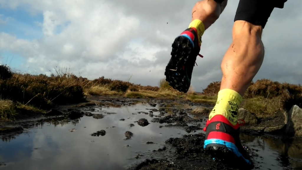fast running on muddy terrain