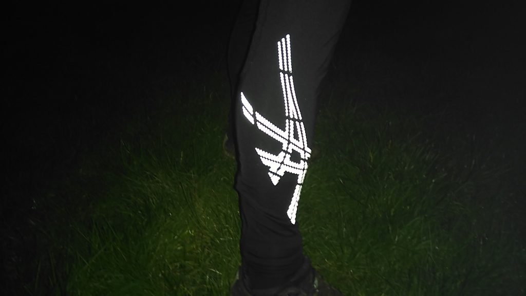Asics Stripe reflective leggings