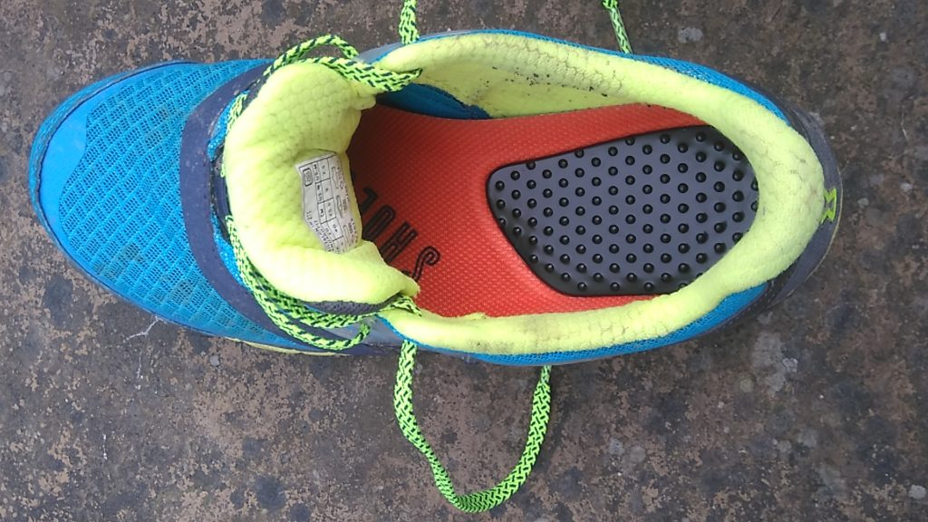 testing Shoe Cues with Inov-8 Trail Talon 275s