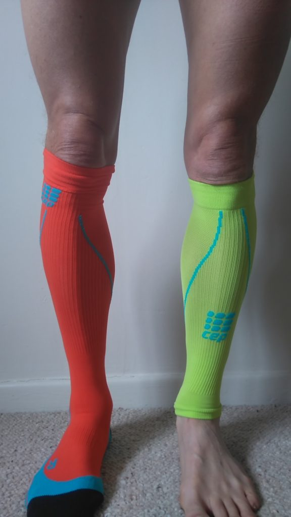 CEP full sock and calf sleeves