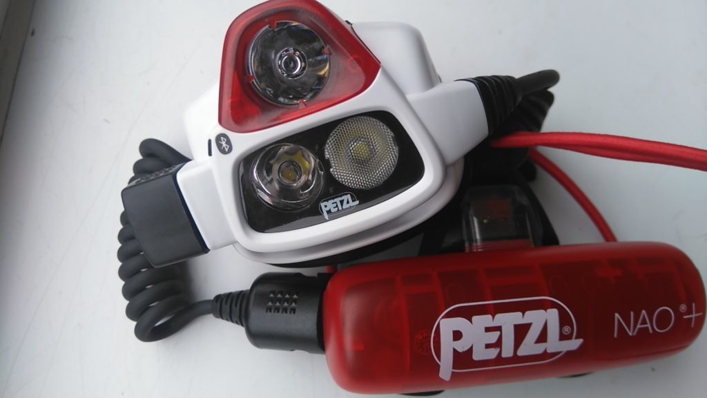 photo of Petzl Nao+ headtorch