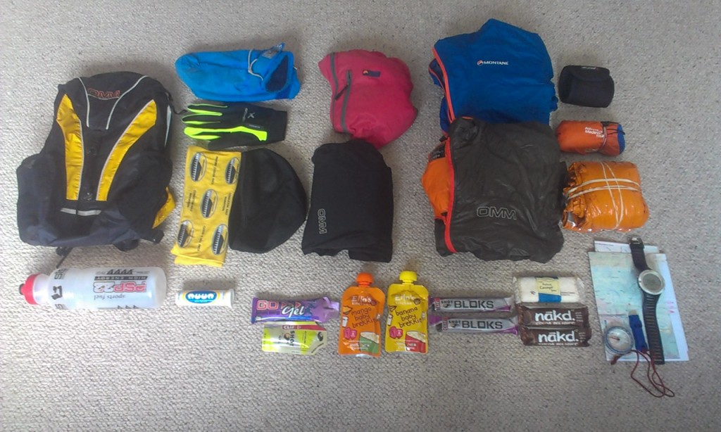 High Peak Marathon equipment