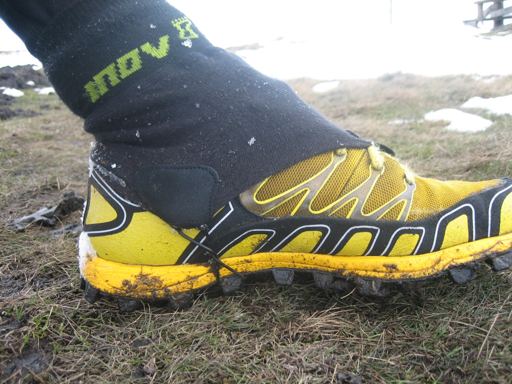 debris socks stop snow getting into your shoes!