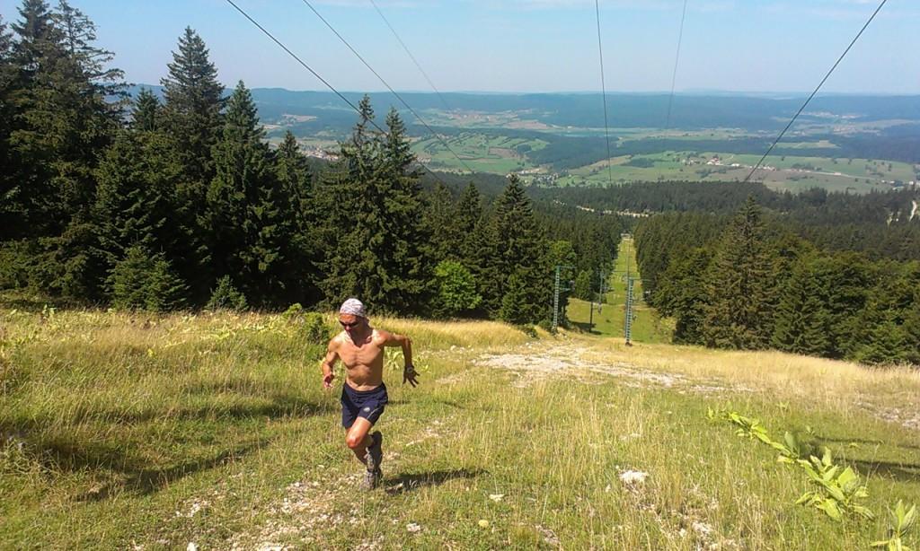sunny running