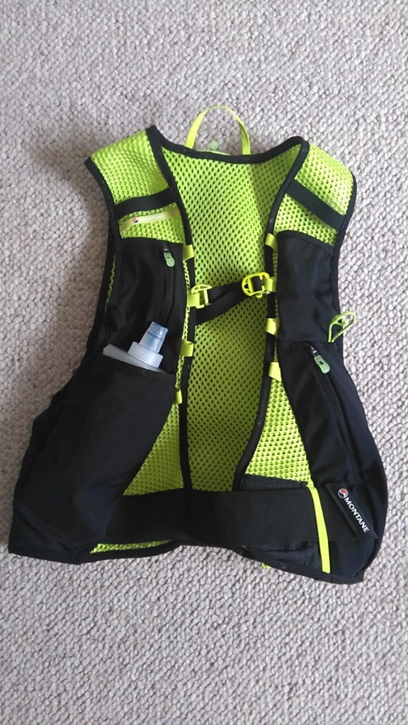 Montane Fang 5 front view