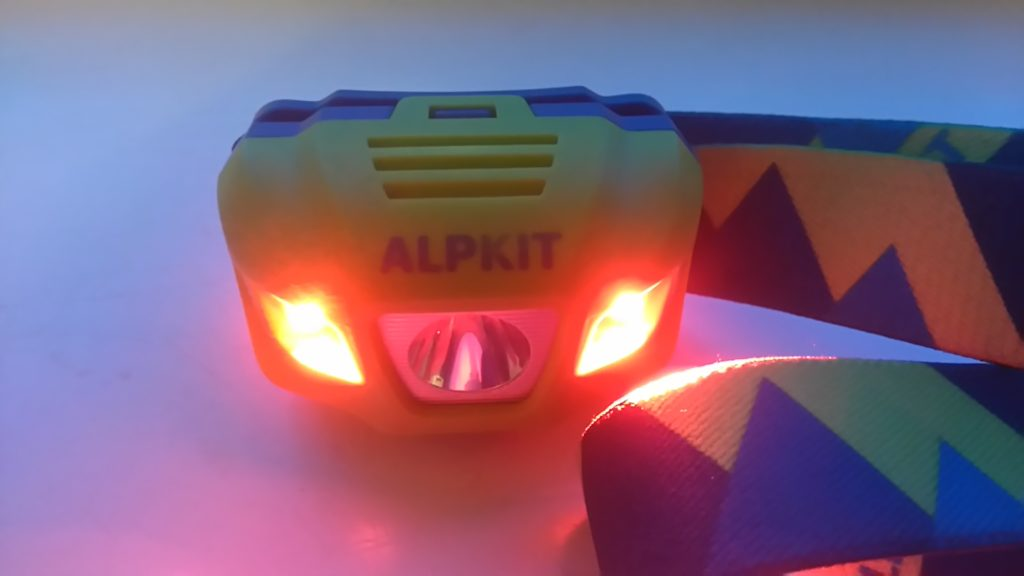 Alpkit Viper 2 x red LEDs