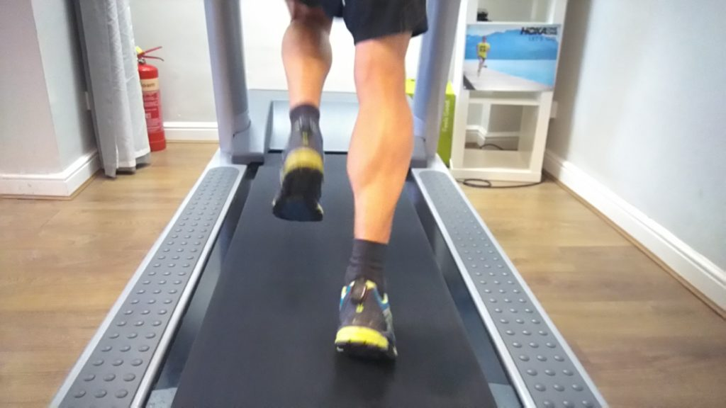 treadmill testing using RunScribe technology