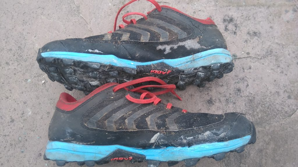Shoe Goo on running shoes