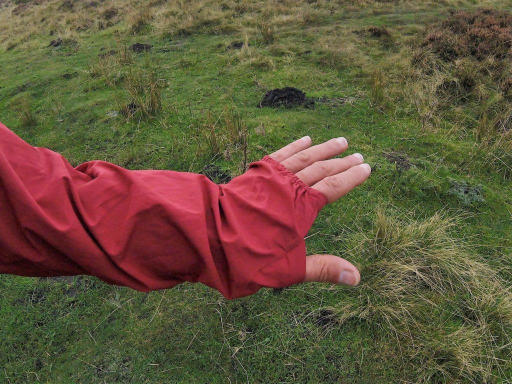 Inov-8 Stormshell cuffs