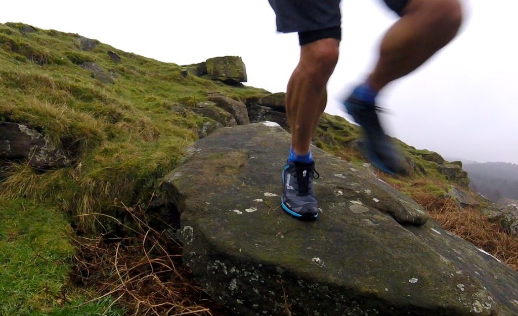 photo of runner wearing Inov-8 X-Talon 230