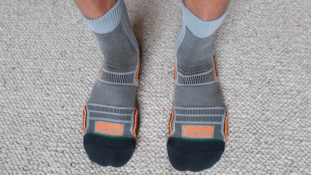photo of 1000 Mile trail socks