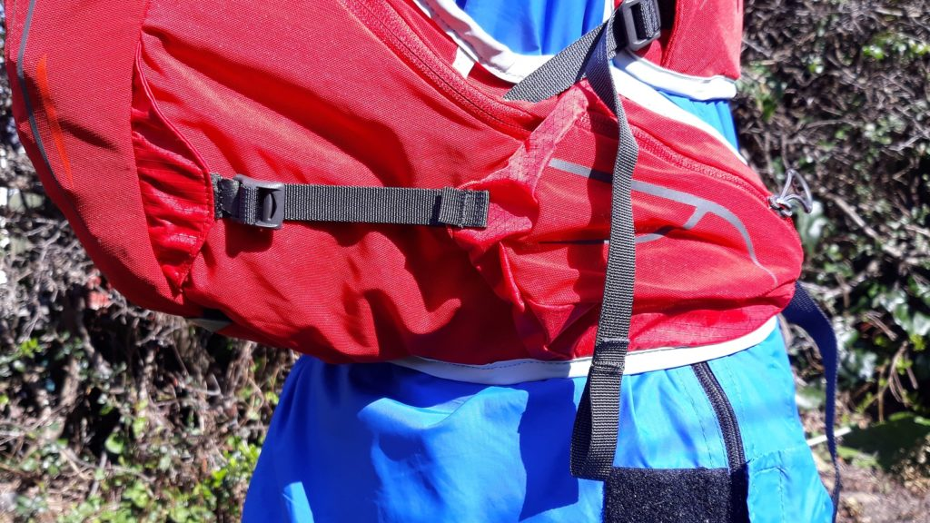 photo of Osprey Duro 15 adjustment straps
