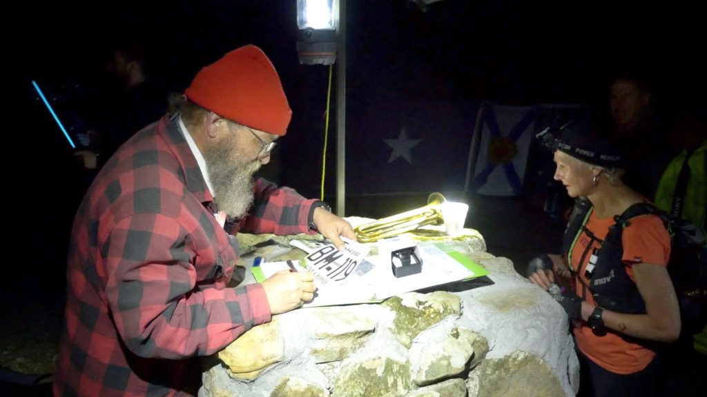 image from Barkley Marathons film