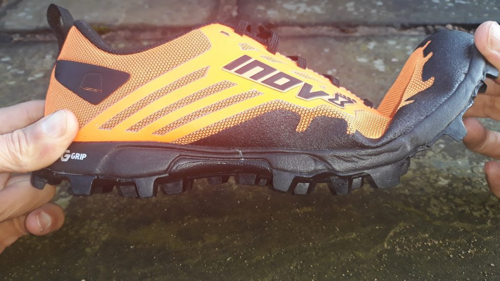photo of Inov-8 X-Talon G235 flexibility