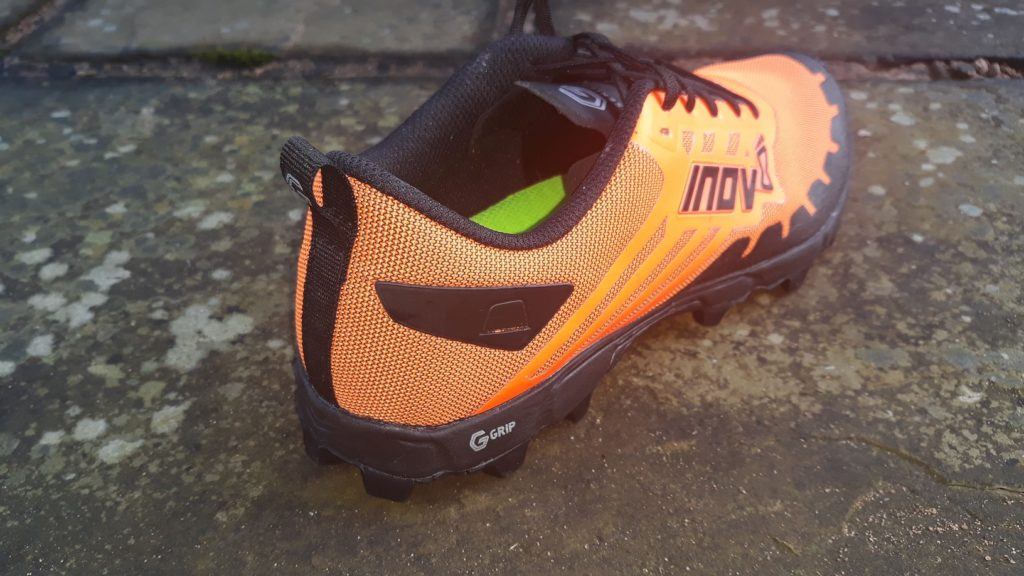 rear view photo Inov-8 X-Talon G235