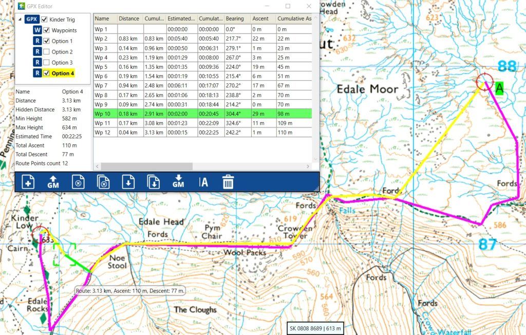 image of Anquet route planning