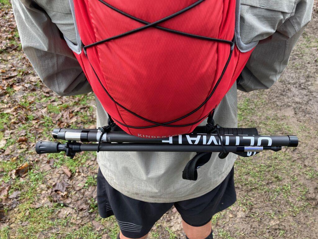 photo of rear of Kinder race vest